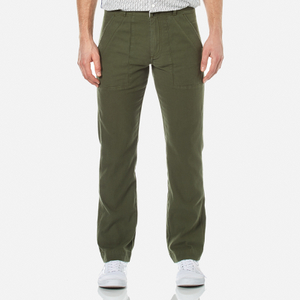 Garbstore Men's Patch Pocket Fatigue Pants - Olive