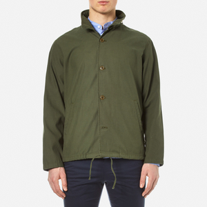 Garbstore Men's M65 Coach Jacket - Olive