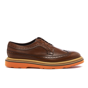 Paul Smith Men's Grand Leather Brogues - Tan Princess Calf