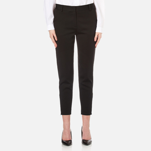 DKNY Women's Tailored Relaxed Pants - Black
