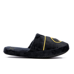 DC Comics Men's Batman Slip On Slippers - Black - UK 8-10