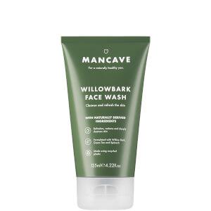 ManCave Willow Bark Face Wash 125ml