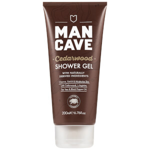 ManCave Cedarwood Shower Gel 200ml