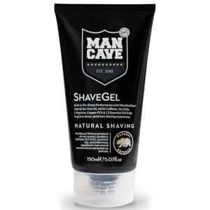 ManCave Caffine Shave Gel 150ml