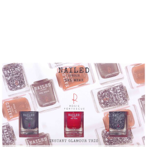 Nailed London With Rosie Fortescue Instant Glamour Trio 3 x 10ml