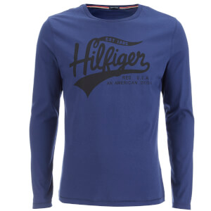 Tommy Hilfiger Men's Organic Cotton T-Shirt - Blueprint