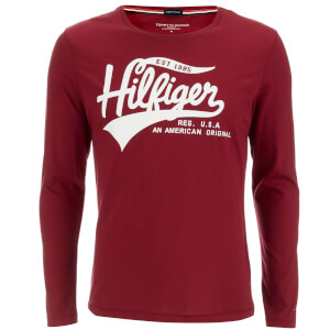 Tommy Hilfiger Men's Organic Cotton T-Shirt - Rhubarb