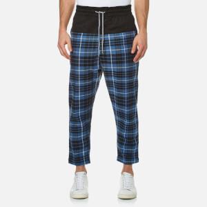Vivienne Westwood Anglomania Men's Truck Samurai Trousers - Tartan Blue/Black