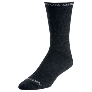 Pearl Izumi Elite Tall Wool Socks - Black