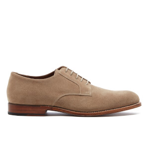 Grenson Men's Liam Suede Derby Shoes - Cloud