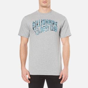 Billionaire Boys Club Men's Zebra Camo Arch Logo T-Shirt - Heather