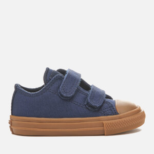 Converse Toddlers' Chuck Taylor All Star II 2V Ox Trainers - Obsidian/Gum