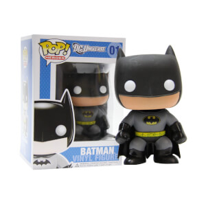 DC Comics Funko Batman (Yellow Oval Error) Pop! Vinyl