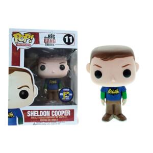 The Big Bang Theory Sheldon Cooper Batman T-Shirt Funko Pop! Vinyl