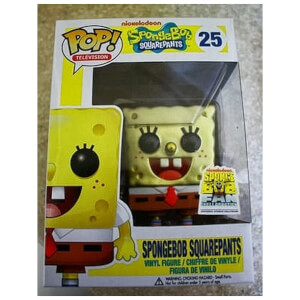 Nickelodeon Spongebob Squarepants (Metallic) Pop! Vinyl