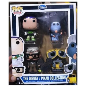 Funko Disney Pixar Set Pop! Vinyl
