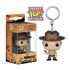 Funko Rick Grimes Pop! Keychain