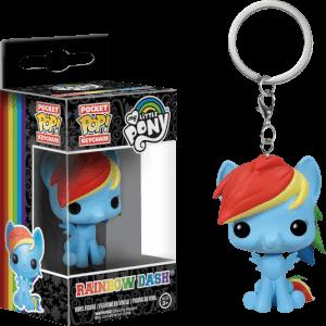 Funko Rainbow Dash Keychain Pop! Keychain