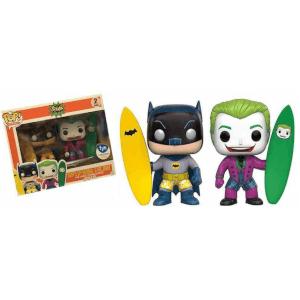 DC Comics Funko Surfs Up Batman & The Joker (2-Pack) Pop! Vinyl