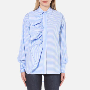 Sportmax Code Women's Adagio Striped Shirt - Light Blue