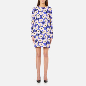 Sportmax Code Women's Virgola Floral Shift Dress - Cornflower Blue