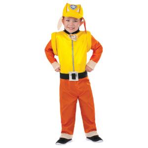 Paw Patrol Boys' Rubble Fancy Dress Costume