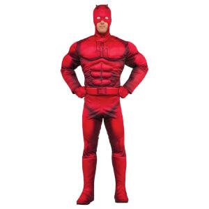 Marvel Men's Daredevil Muscle Fancy Dress Costume