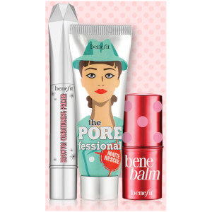 benefit Deluxe Mini Matte Rescue, Browvo and Benebalm (Free Gift)