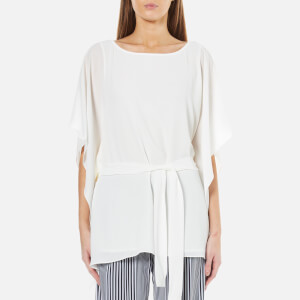 MICHAEL MICHAEL KORS Women's Boatneck Tunic Top - White