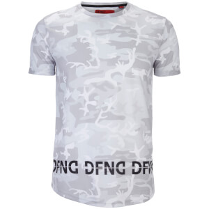 DFND Men's Instinct Camo Print T-Shirt - White