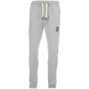 Smith & Jones Men's Tiverton Joggers - Light Grey Marl