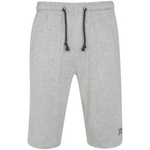 Tokyo Laundry Men's Greenbury Lounge Shorts - Grey Marl