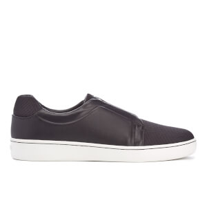 DKNY Women's Bobby Classic Court Slip On Trainers - Black