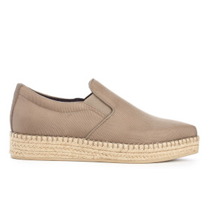 DKNY Women's Trey Pointy Slip On Espadrilles - Dark Clay