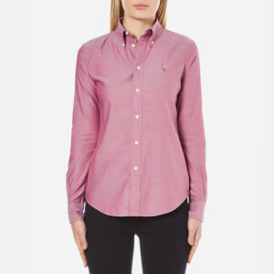 Polo Ralph Lauren Women's Harper Shirt - Raspberry