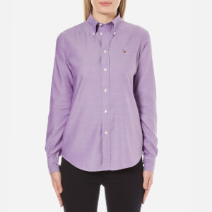 Polo Ralph Lauren Women's Harper Shirt - Bright Purple