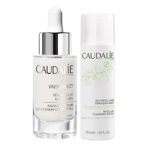 Caudalie Vinoperfect Serum & Micellar Cleansing Water Exclusive Bundle (Worth £68.84)