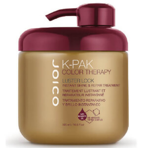 Joico K-Pak Color Therapy Luster Lock Instant Shine and Repair Treatment 500ml (Worth £62.32)