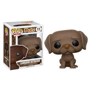 Pop! Pets Chocolate Labrador Retriever Funko Pop! Figuur
