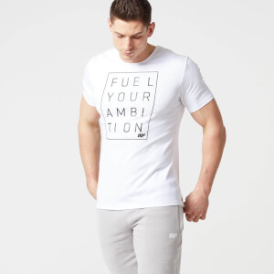 Myprotein Heren Core Slogan T-shirt