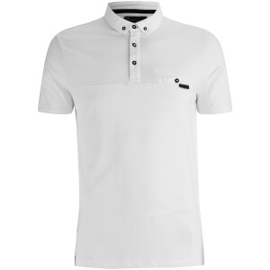 Dissident Men's Dunloe Polo Shirt - Optic White
