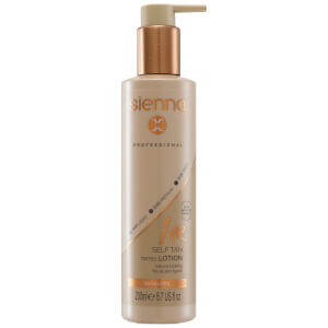 Sienna X 1 Hour Self Tan Tinted Lotion 200 ml