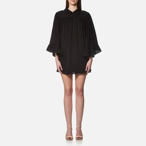 McQ Alexander McQueen Women's Flared Collar Dress - Black