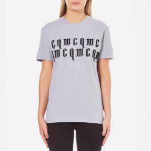 McQ Alexander McQueen Women's Classic Logo T-Shirt - Grey Melange