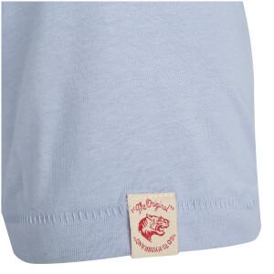 Tokyo Laundry Men's Essential Crew Neck T-Shirt - Placid Blue: Image 3