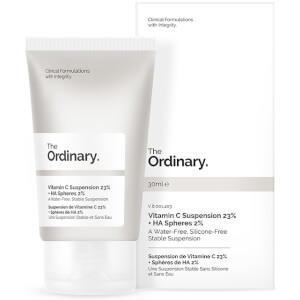 Suspensão com 23% de Vitamina C + Esferas de AH da The Ordinary 30 ml