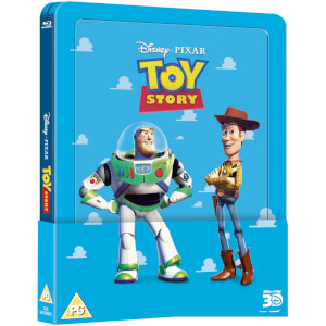 Toy Story 1 3D (Inklusive 2D Version) – Zavvi UK Exklusive Lentikular Steelbook Edition