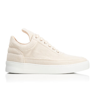 Filling Pieces Women's Jenna Low Top Trainers - Beige