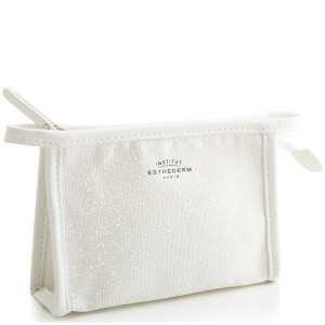 Institut Esthederm White Leather Pouch (Free Gift)