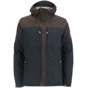Fjallraven Men's Skogso Padded Jacket - Dark Navy/Dark Grey